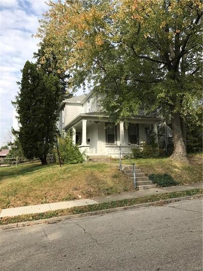 Dayton Single Family Home For Sale: 1619 Speice Avenue