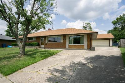 Huber Heights Single Family Home For Sale: 5313 Seaman Drive