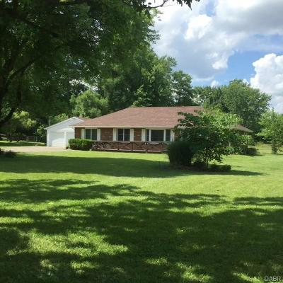 Centerville Single Family Home For Sale: 1150 Lytle-Five Points Road