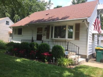 Dayton Single Family Home For Sale: 1621 Rockhurst Avenue