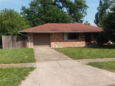 Dayton Single Family Home For Sale: 3697 Endover Road