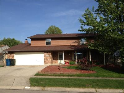 Huber Heights Single Family Home For Sale: 8850 Swinging Gate Drive