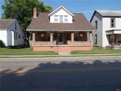 West Milton Single Family Home For Sale: 140 Miami Street