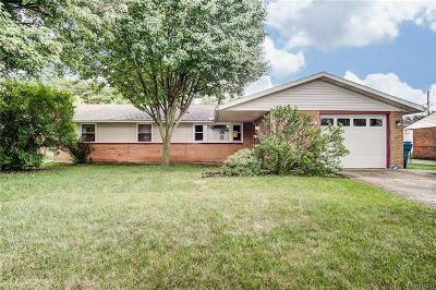 Dayton Single Family Home For Sale: 7148 Kismet Place