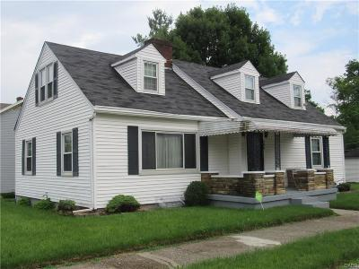 Dayton OH Single Family Home For Sale: $55,500