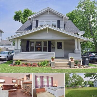 Dayton Single Family Home For Sale: 101 Knecht Drive