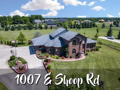 Tipp City Single Family Home Active/Pending: 1007 Shoop Road