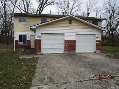 Dayton Multi Family Home For Sale: 4933 Blueberry Avenue