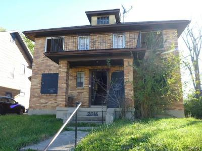 Dayton OH Multi Family Home For Sale: $23,900