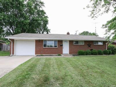 Huber Heights Single Family Home For Sale: 6124 Troy Pike