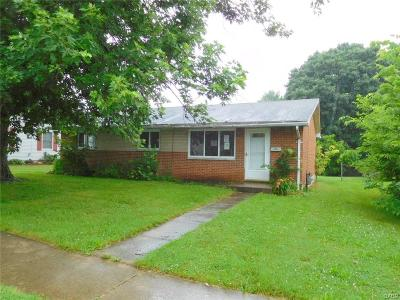 West Milton Single Family Home For Sale: 244 Forest Avenue