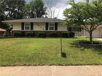 Huber Heights Single Family Home Pending/Show for Backup: 7417 Harshmanville Road