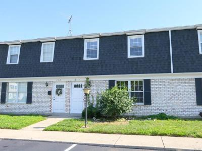 Dayton OH Condo/Townhouse For Sale: $45,000
