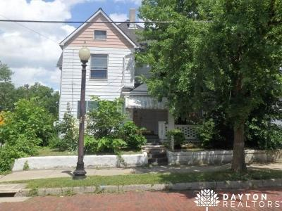 Dayton OH Single Family Home For Sale: $33,000
