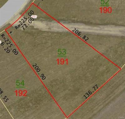 Xenia Residential Lots & Land For Sale: Lot # 191 Lakeview Drive