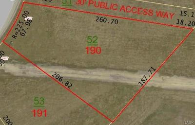 Xenia Residential Lots & Land For Sale: Lot # 190 Lakeview Drive