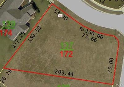 Xenia Residential Lots & Land For Sale: Lot #172 Wright Avenue