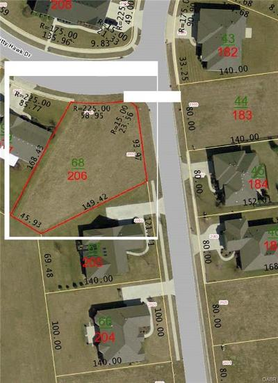 Xenia Residential Lots & Land For Sale: Lot # 206 Kitty Hawk Drive