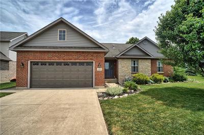 Tipp City Single Family Home Active/Pending: 420 Clover Hill Drive