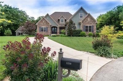 Xenia Single Family Home For Sale: 1210 Hampshire Hill
