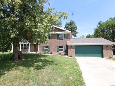 Tipp City Single Family Home Active/Pending: 895 Todd Court