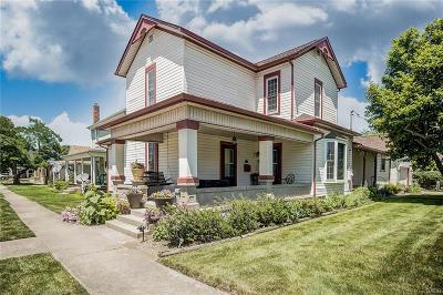 West Milton Single Family Home For Sale: 8 Main Street
