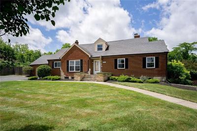 Vandalia Single Family Home For Sale: 9445 Dixie Drive