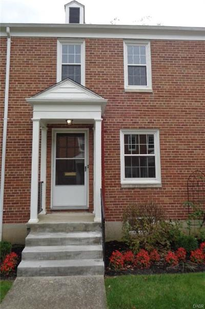 Springfield OH Condo/Townhouse For Sale: $80,000