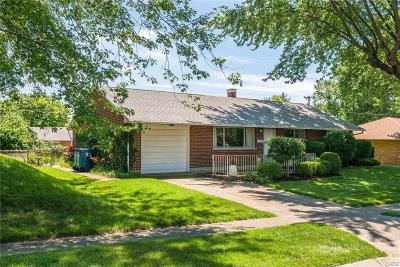 Huber Heights Single Family Home For Sale: 5952 Tibet Drive