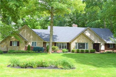 Troy Single Family Home Active/Pending: 2845 Broken Woods Drive
