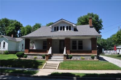 West Milton Single Family Home For Sale: 261 Main Street