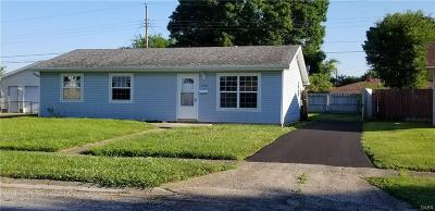 Xenia OH Single Family Home For Sale: $87,400