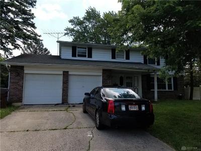 Trotwood Single Family Home Active/Pending: 5570 Olive Tree Drive
