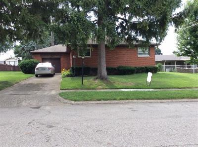 Dayton OH Single Family Home For Sale: $159,900