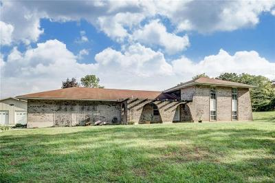 Tipp City Single Family Home For Sale: 5565 State Route 571
