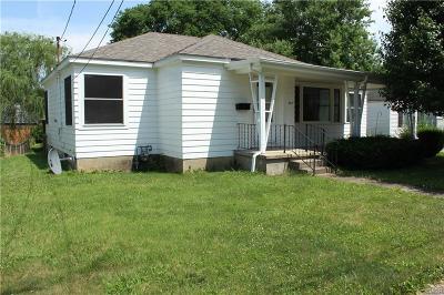 West Milton Single Family Home For Sale: 412 Main Street