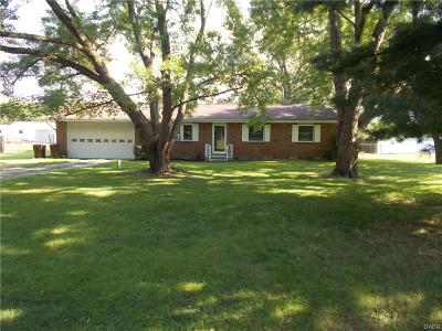 West Milton Single Family Home For Sale: 9110 Pearson Road