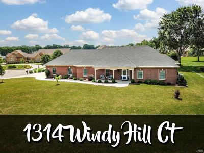 Troy Single Family Home For Sale: 1314 Windy Hill Court