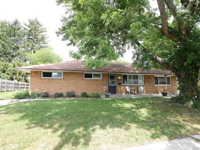 Huber Heights Single Family Home For Sale: 5205 Mariner Drive