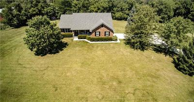 Tipp City Single Family Home For Sale: 5075 Us Route 40