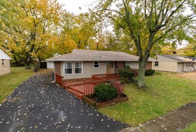 Huber Heights Single Family Home For Sale: 7106 Mercedes Road