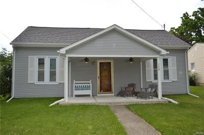 South Vienna Single Family Home For Sale: 108 Main Street