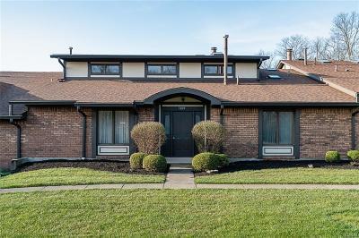 Centerville Condo/Townhouse For Sale: 7009 Fallen Oak