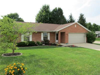 Xenia Single Family Home Active/Pending: 890 McDowell Street