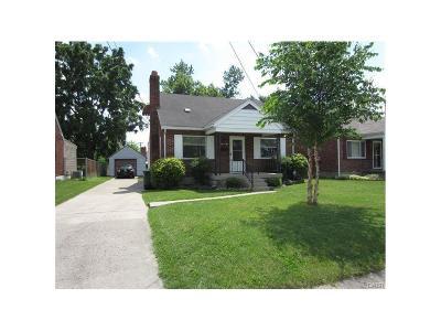 Dayton Single Family Home For Sale: 1444 Ohmer Avenue