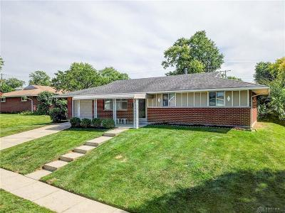 Dayton Single Family Home For Sale: 4866 Franlou Avenue