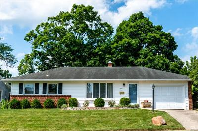 Tipp City Single Family Home For Sale: 337 Miles Avenue
