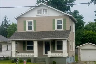 Dayton Single Family Home For Sale: 8601 Main Street