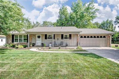 South Charleston Single Family Home For Sale: 8722 Wildlane Drive