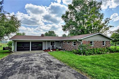 South Charleston Single Family Home For Sale: 6505 Fletcher Chapel Road